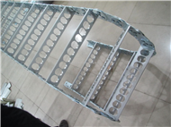 钢铝拖链DGT型导管防护套钢制拖链188bet拖链188bet坦克链
