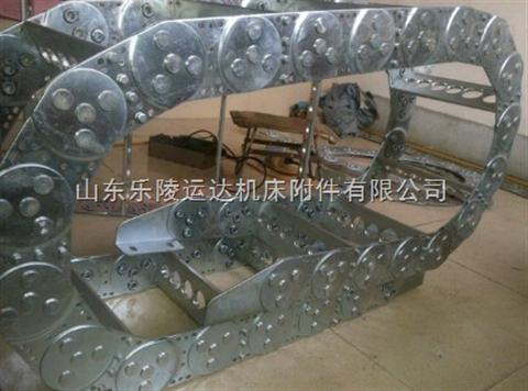 铸造机械设备专用穿线钢铝拖链
