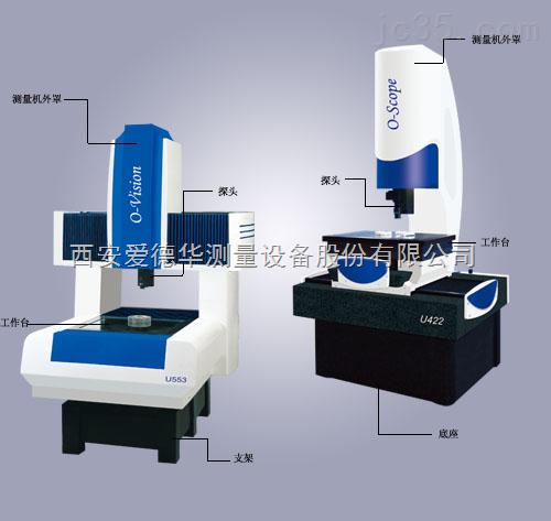 爱德华O-Scope U422/O-Vision U553系列复合式三坐标测量机