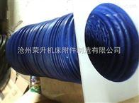 专业制作玻璃纤维硅胶布伸缩防护罩