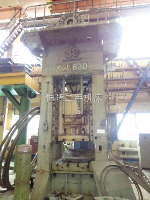 现货供应二手闭式单点压力机 K9538 630吨 1000吨