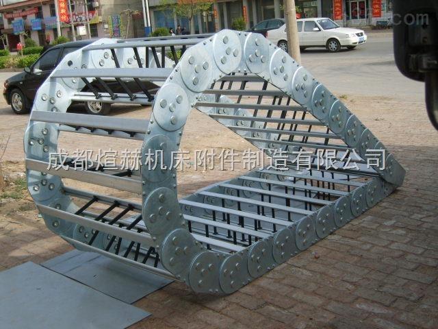 打孔桥式工程钢制拖链【当天发货】产品图片