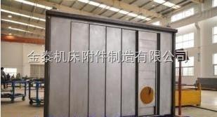 张家界五轴联动机床防护罩,郑州加工中心钢板防护罩