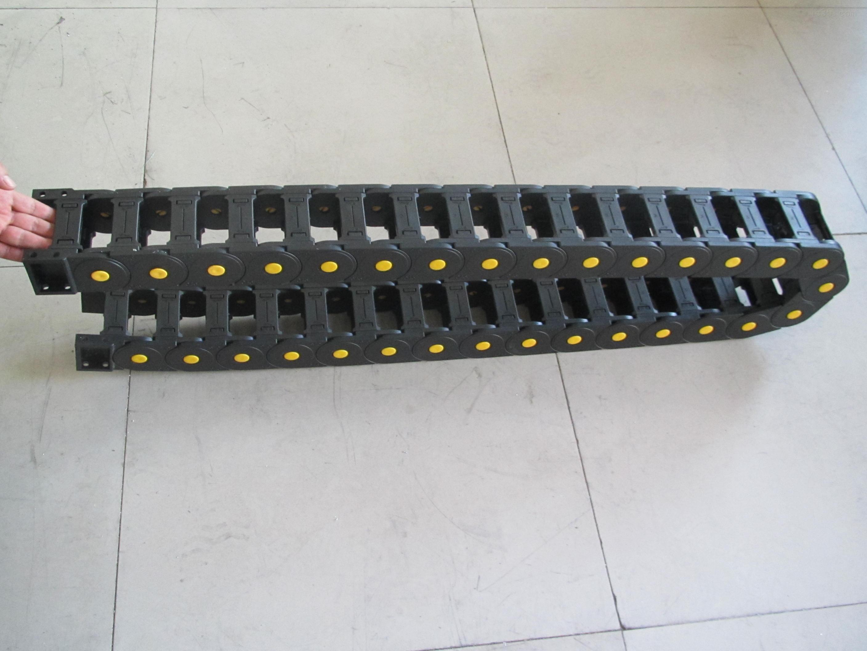 各种穿线设备塑料拖链厂