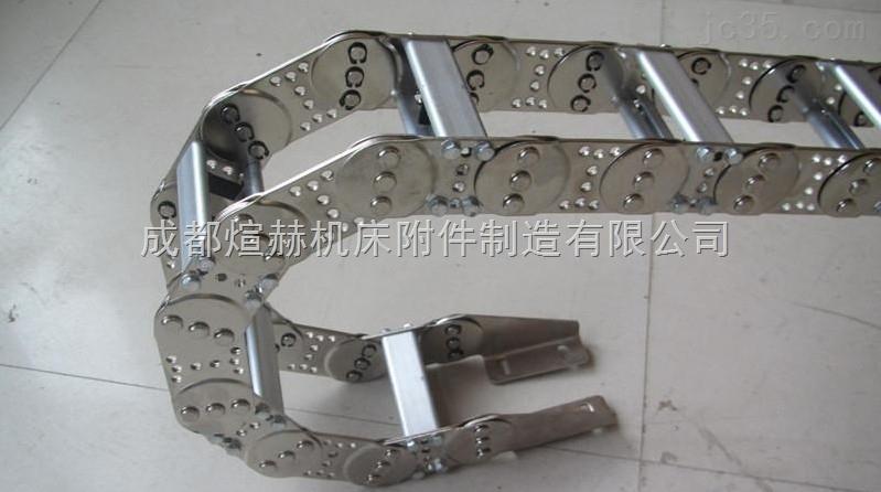 起重机全封闭金属渗碳型拖链产品图片