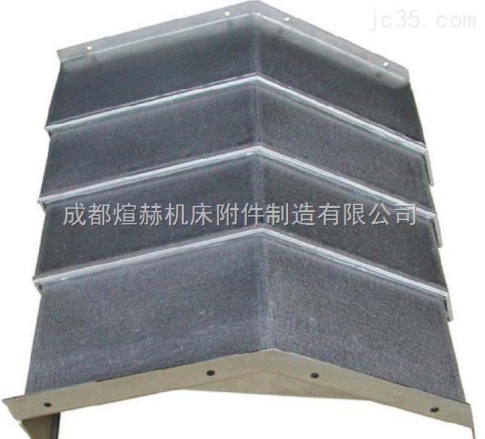 数控机床钢板导轨防护罩公司产品图片