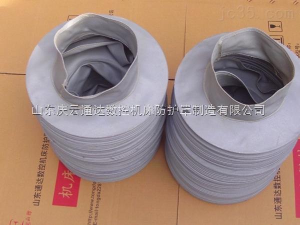 耐高温伸缩式防尘罩,耐高温伸缩软连接