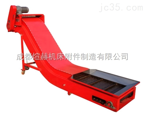 大型龙门铣床刮板式排屑机产品图片