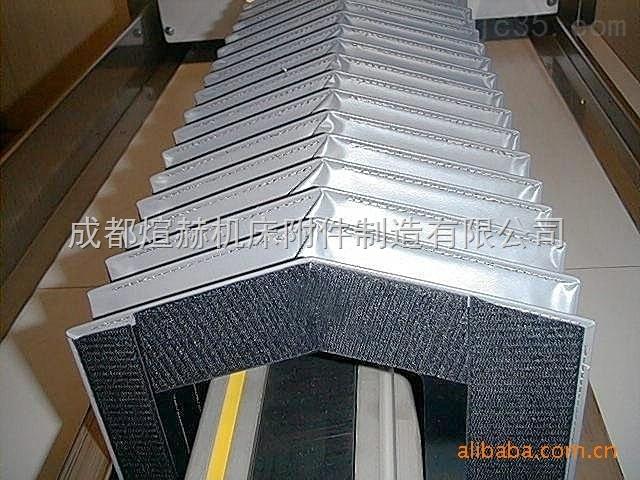 柔性耐磨風琴式機床防護罩產品圖片