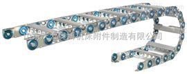 大连钢制拖链供应  唐山钢厂钢铝拖链 油管拖链生产