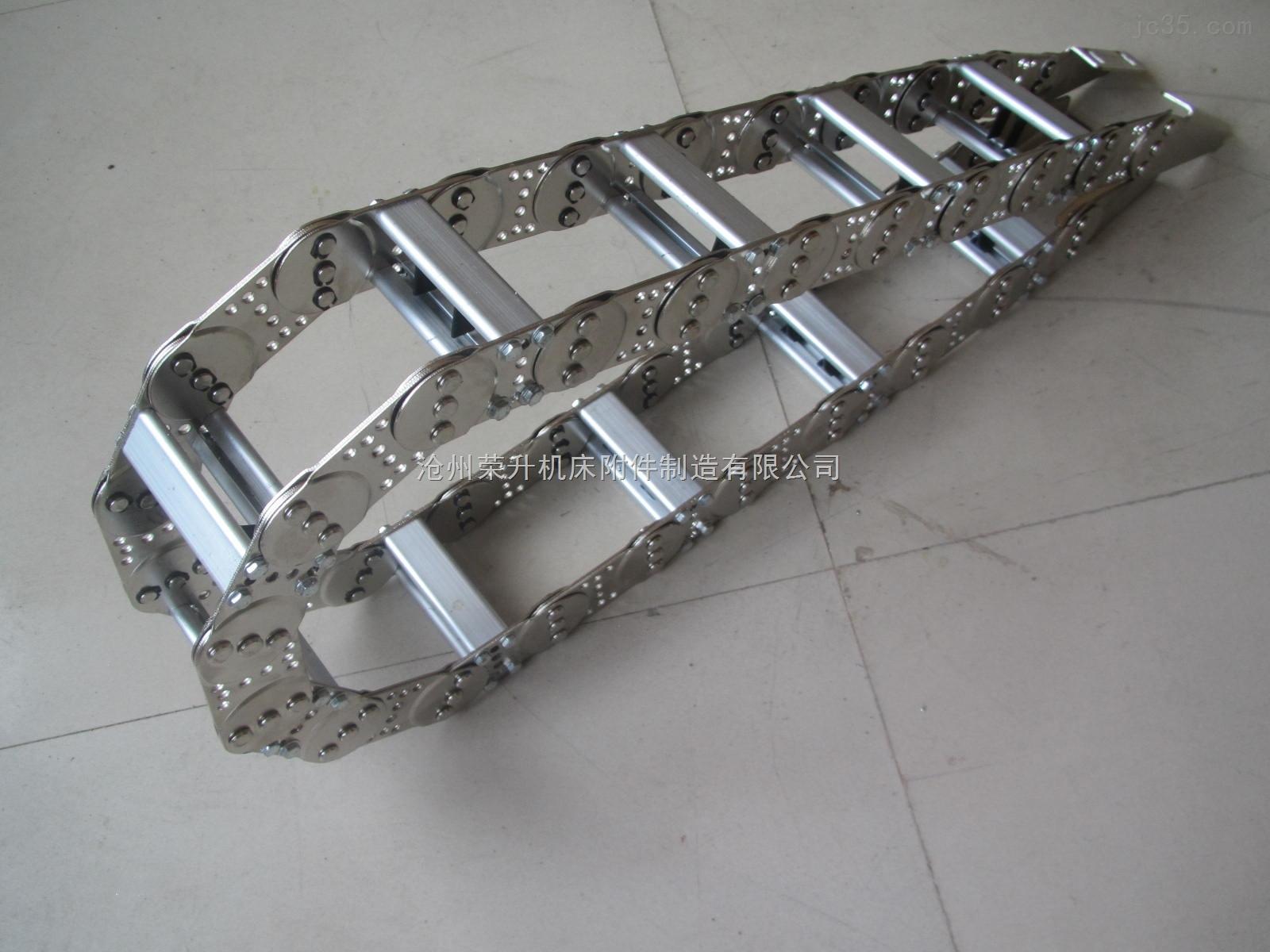 穿线缆钢铝拖链