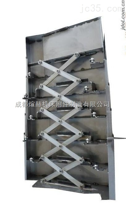 钢板机床导轨伸缩护板制造厂家