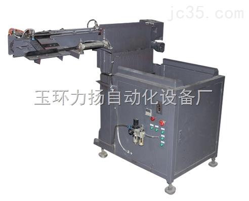 中频炉自动送料机采用阶梯式上料