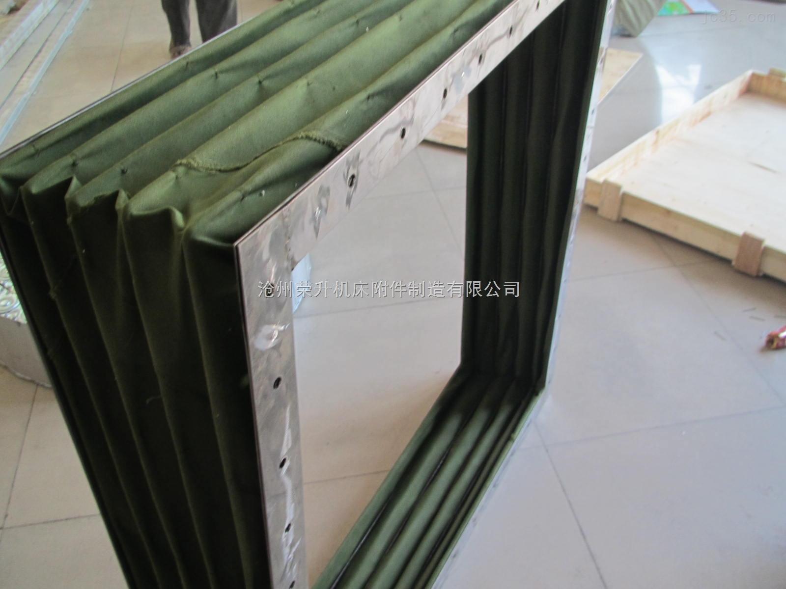 沈阳工厂通用通风帆布软连接