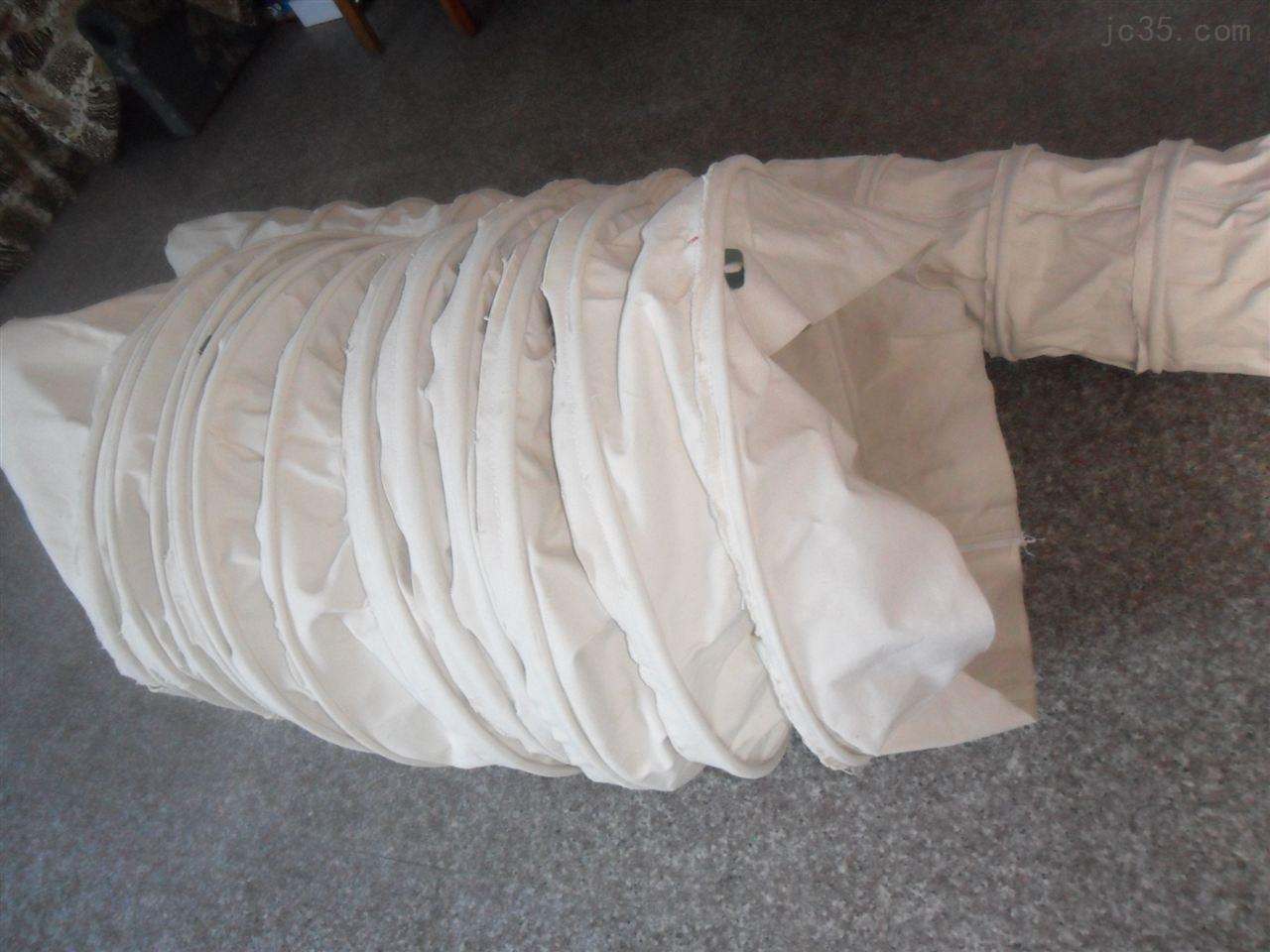 厂家专业加工生产水泥软连接,水泥伸缩布袋