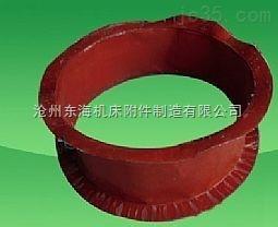 红色硅胶风机风口软连接