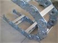 齐全支撑滚轮式油管钢制拖链