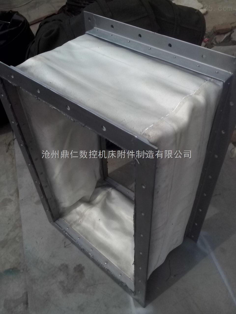 沧州耐高温通风软连接 非金属补偿器