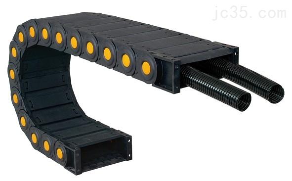 机床塑料拖链 塑料拖链的及使用