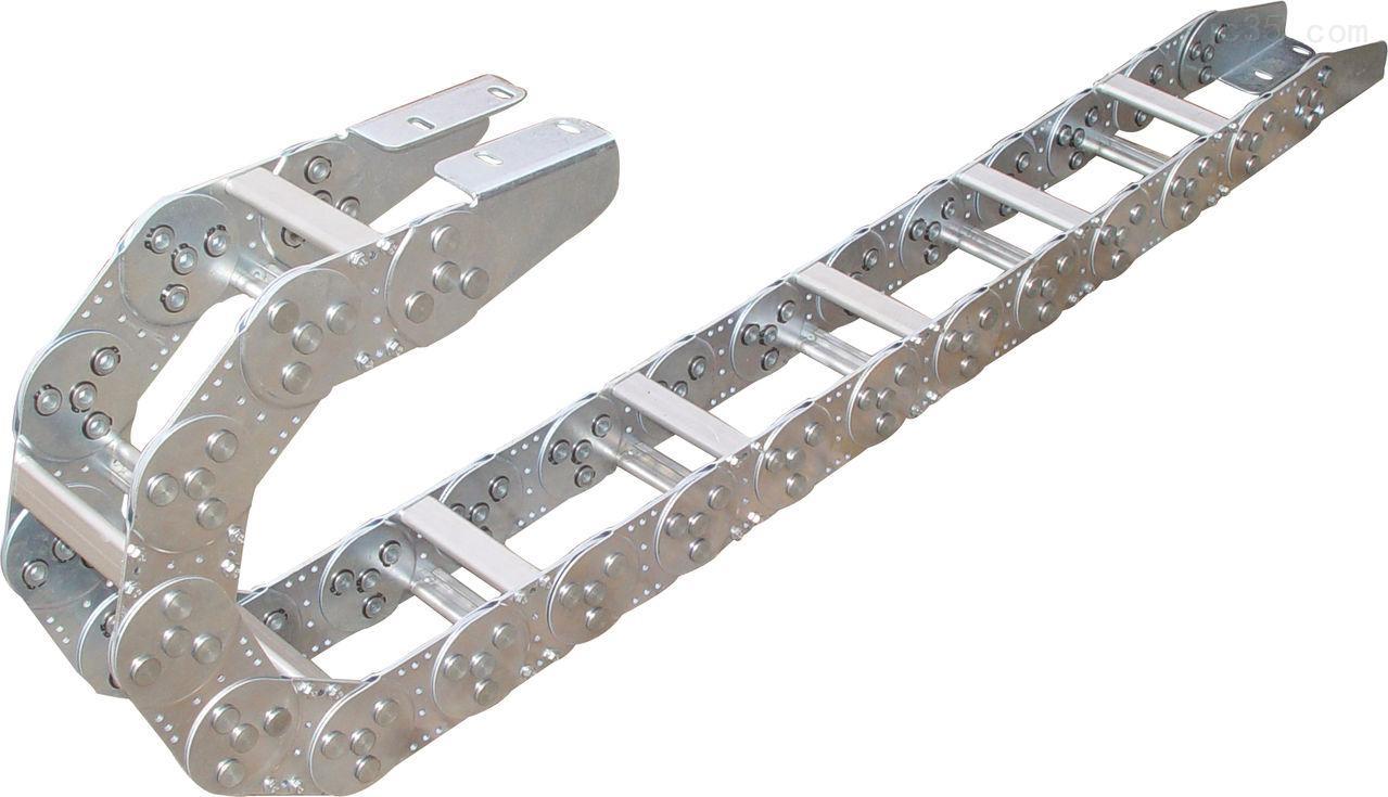 超长打孔式机床钢铝拖链