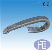 防腐蚀不锈钢带方接头矩形金属软管 全封闭拖链