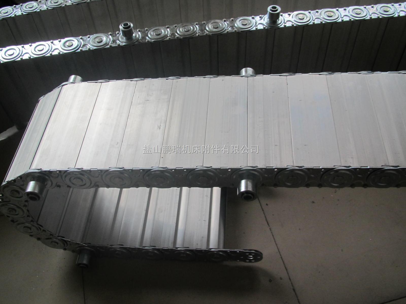钢厂穿线不锈钢钢铝拖链