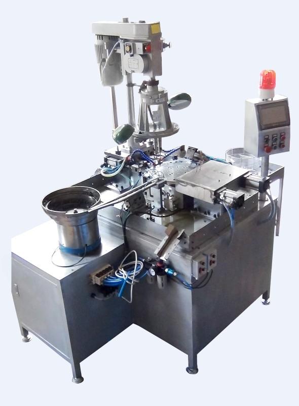 产品库 金属切削机床 螺纹加工机床 其他磨床 双头钻孔攻丝倒角一体机