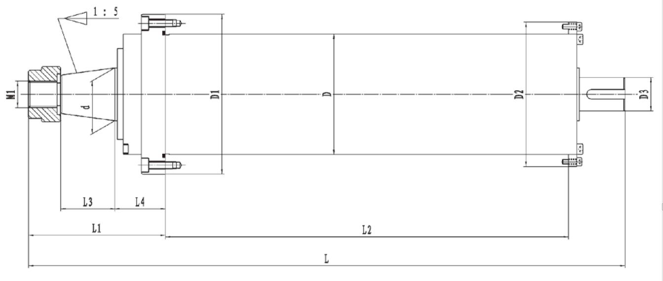 滚动轴承主轴规格