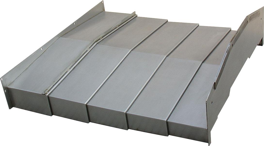 四川镗床钢板防护罩产品图