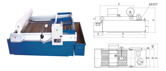 四川纸带过滤机型号产品图