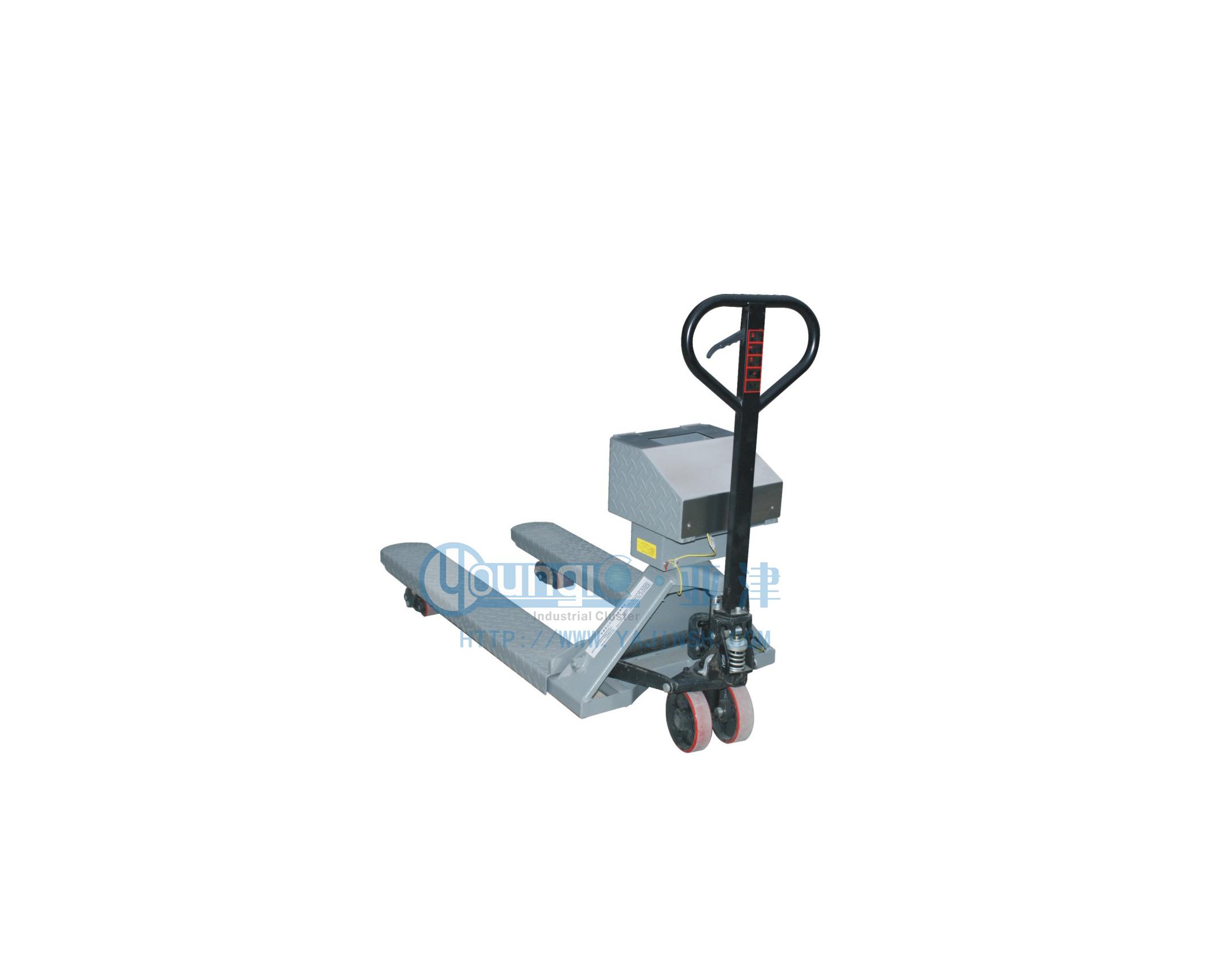 供应亚津不锈钢电子叉车秤 防爆电子台秤价格