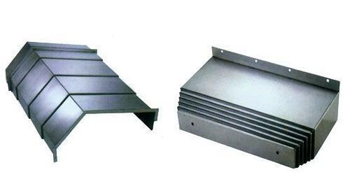 钢板导轨防尘罩厂家产品图