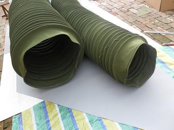 帆布伸缩通风管产品图