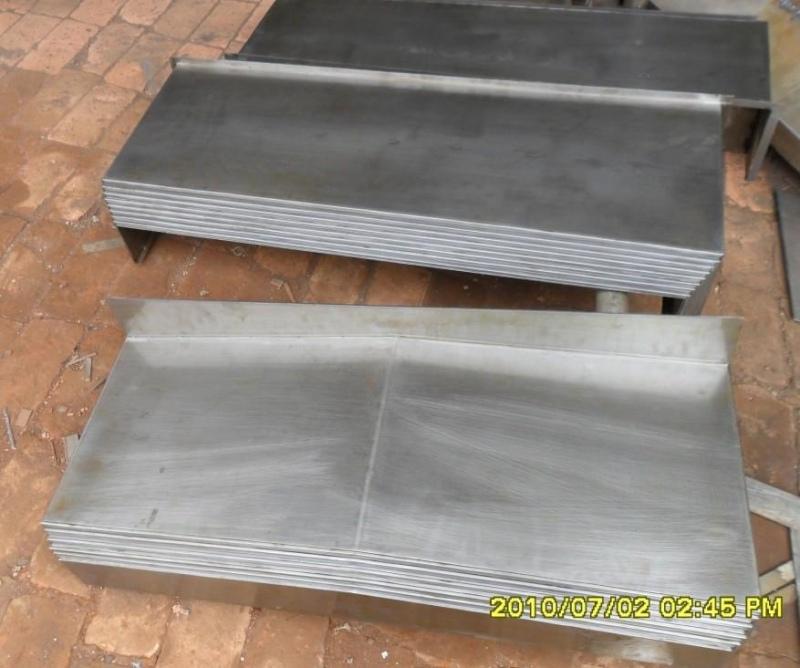 钢板导轨防护罩材质产品图