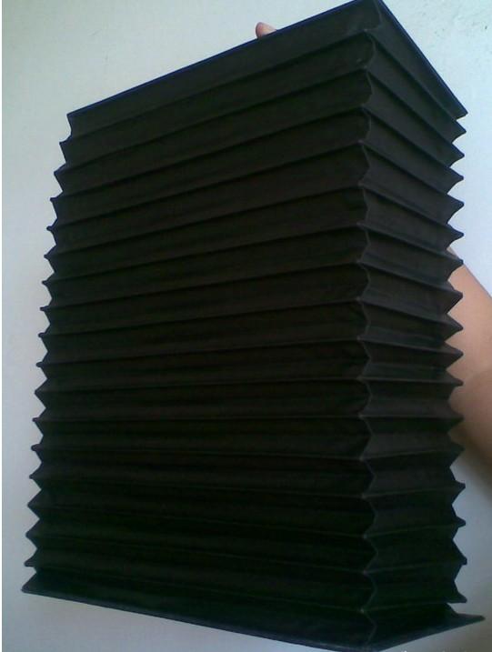 柔性风琴式导轨防护罩产品图