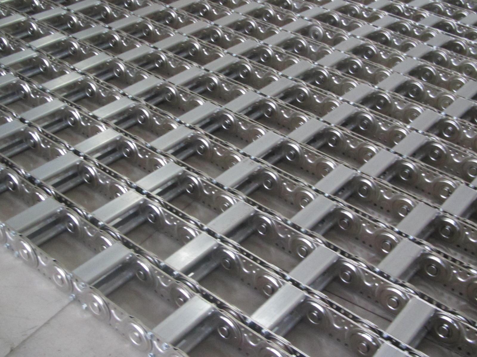 隔离板线缆钢铝拖链产品图