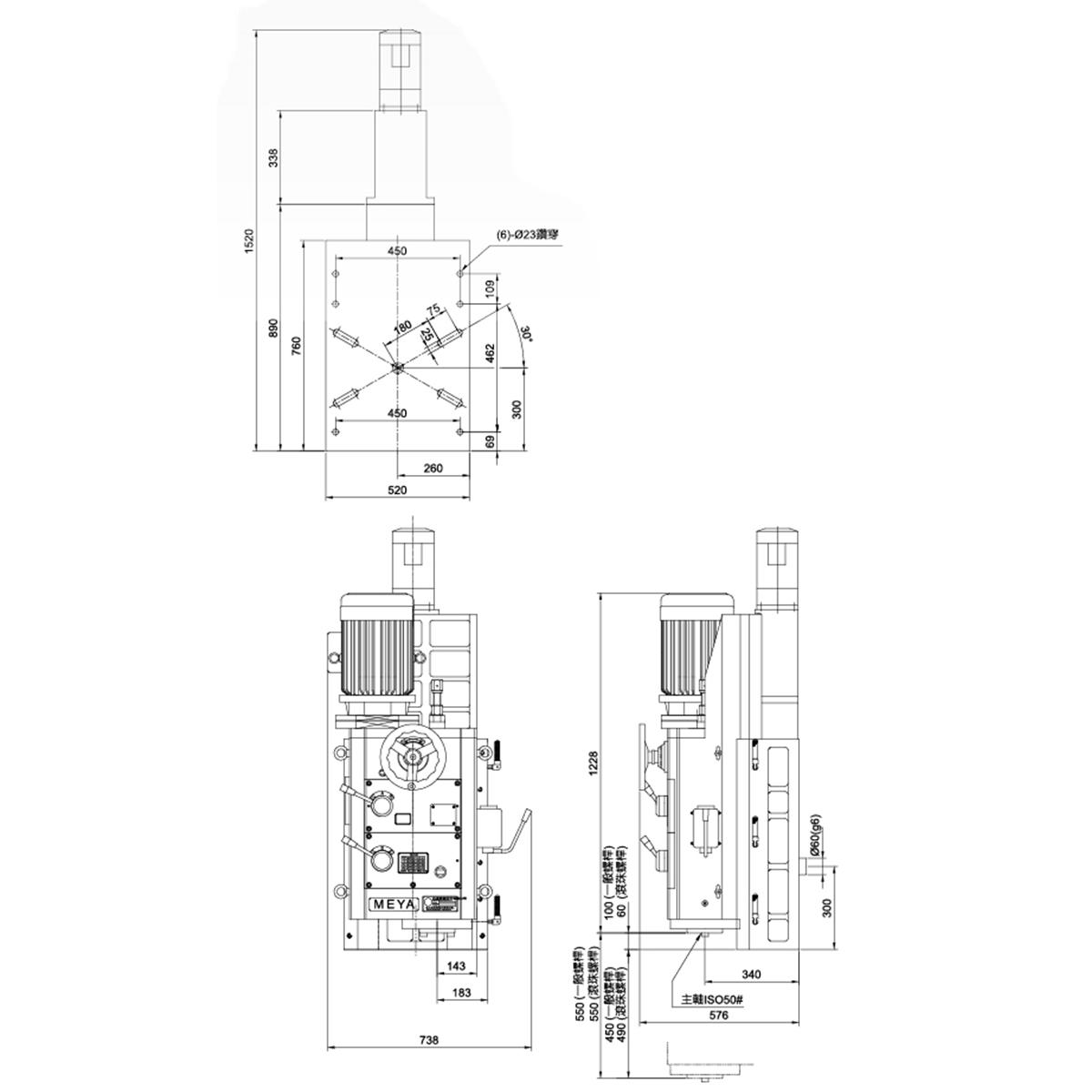 龙门铣x2010a电路图