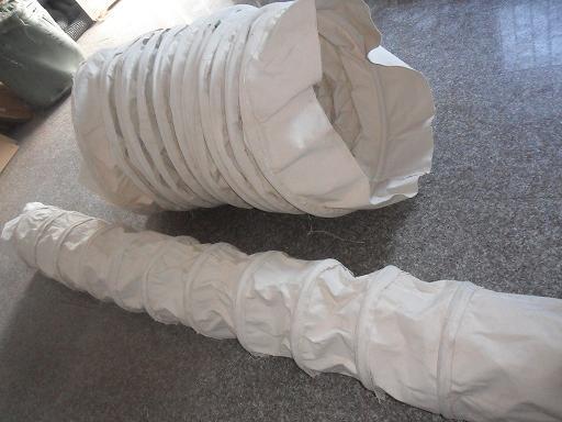 无锡纯棉帆布水泥伸缩软连接产品图