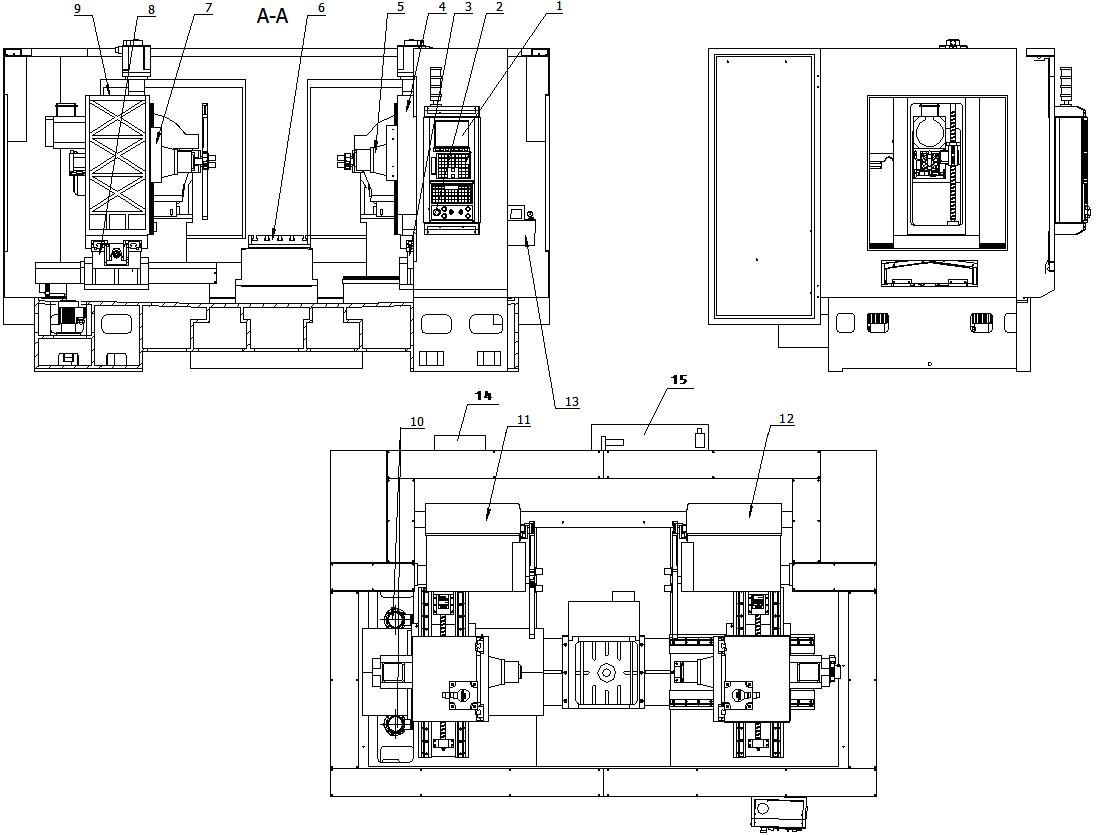 数控机床不用小变压器接线图